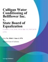 Culligan Water Conditioning Of Bellflower Inc V State Board Of Equalization