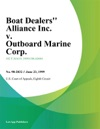 Boat Dealers Alliance Inc V Outboard Marine Corp