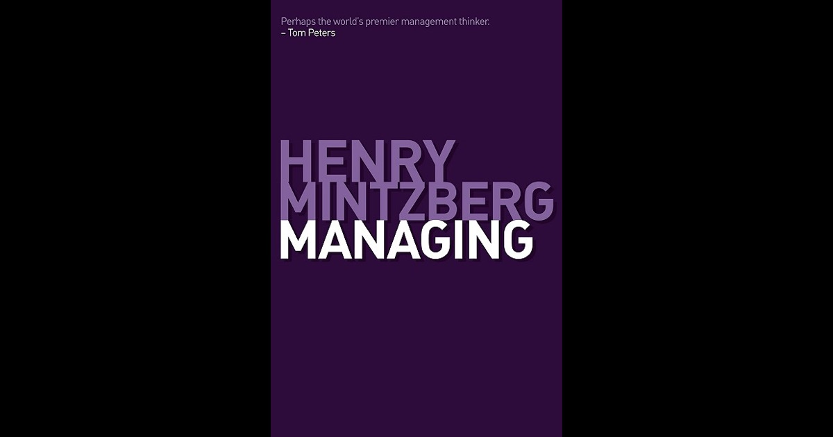 henry mintzberg managing pdf download