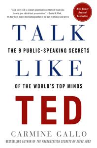 Talk Like TED Copertina del libro