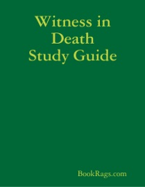WITNESS IN DEATH STUDY GUIDE