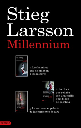 Stieg Larsson - Trilogía Millennium (pack)