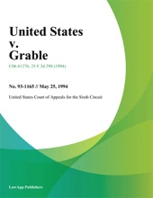 United States V. Grable