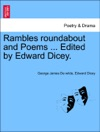 Rambles Roundabout And Poems  Edited By Edward Dicey