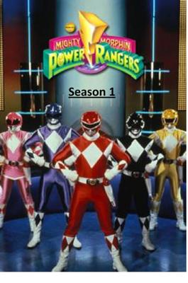 Mighty Morphin' Power Rangers Season 1 - Geeko Techy book
