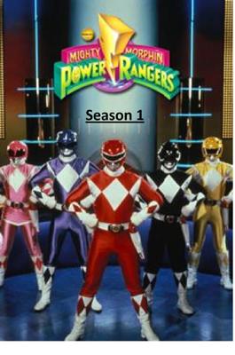 Mighty Morphin' Power Rangers Season 1 - Geeko Techy book