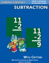 Subtraction Flash Cards: Subtraction Facts With Critters