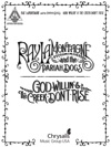 Ray LaMontagne And The Pariah Dogs - God Willin  The Creek Dont Rise Songbook