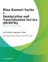 Rina Kumari Surita V Immigration And Naturalization Service 090996