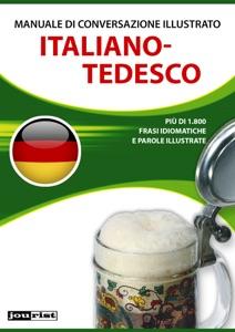 Manuale di conversazione illustrato Italiano-Tedesco Book Cover