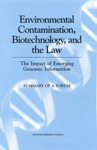Environmental Contamination Biotechnology And The Law