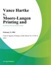 Vance Hartke V Moore-Langen Printing And