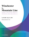 Winchester V Mountain Line