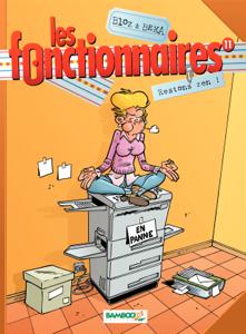Les Fonctionnaires Tome 11 La couverture du livre martien