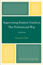 Supervising Student Teachers The Professional Way