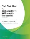 Nab Nat Res V Willamette V Willamette Industries