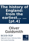 The History Of England From The Earliest Times To The Death Of George II By Dr Goldsmith  Pt4