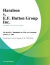 Haralson V EF Hutton Group Inc