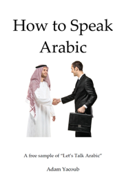 How to Speak Arabic book