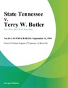 091494 State Tennessee V Terry W Butler