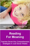 Reading For Meaning