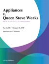 Appliances V Queen Stove Works