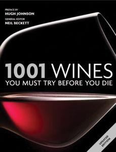 1001 Wines La couverture du livre martien