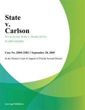 State V. Carlson