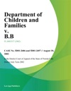 Department Of Children And Families V BB