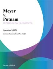 Meyer V. Putnam