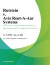 Rutstein V Avis Rent-A-Car Systems