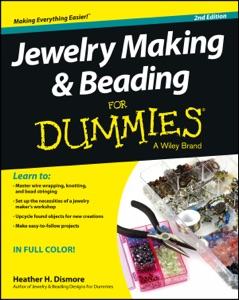 Jewelry Making and Beading For Dummies Book Cover