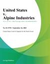 United States V Alpine Industries