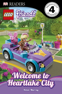 DK Readers L4: LEGO® Friends: Welcome to Heartlake City (Enhanced Edition)