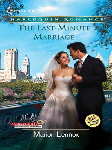 Marion Lennox - The Last-Minute Marriage
