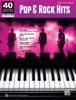 40 Sheet Music Bestsellers: Pop & Rock Hits
