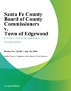 Santa Fe County Board Of County Commissioners V Town Of Edgewood
