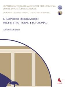 Il Rapporto Obbligatorio: profili strutturali e funzionali Book Cover