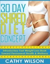 30 Day Shred Diet Concept