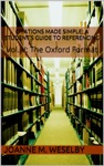 Citations Made Simple A Students Guide To Easy Referencing Vol V The Oxford Format