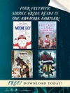 Four Fantastic Middle-Grade Reads In One Awesome Sampler