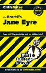 CliffsNotes On Bronts Jane Eyre