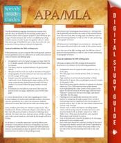 APA/MLA Guidelines (Speedy Study Guides)