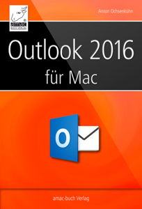 Microsoft Outlook 2016 für den Mac Buch-Cover