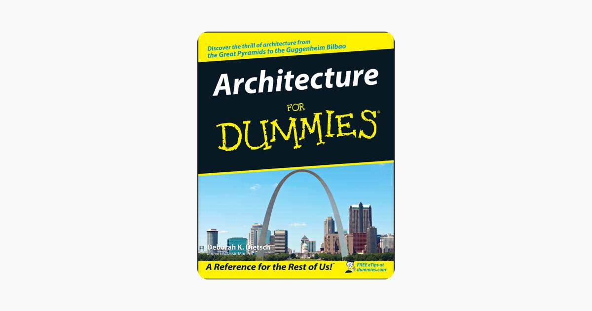 Architecture For Dummies En Apple Books