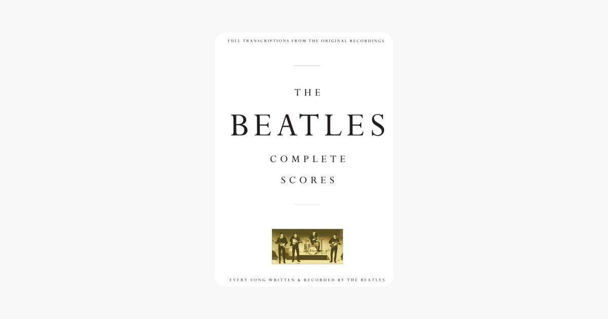 the beatles complete scores on apple books. Black Bedroom Furniture Sets. Home Design Ideas