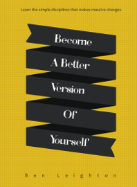 Become A Better Version of Yourself book