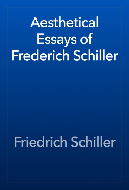 Schiller philosophical essays