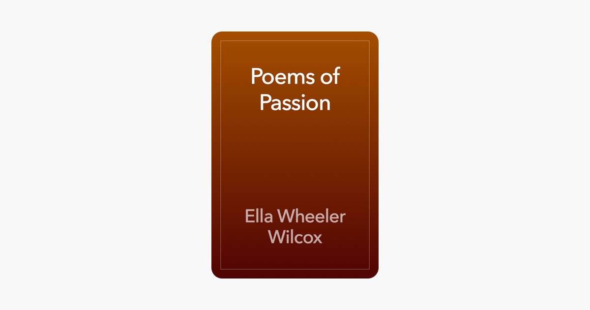Poems Of Passion On Apple Books