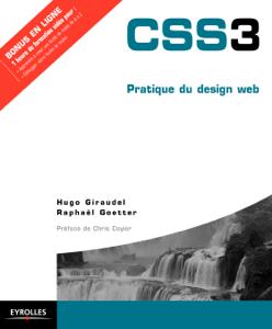 CSS3 La couverture du livre martien